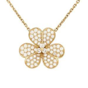 Large Model, 18K Yellow Gold Pendant Necklace